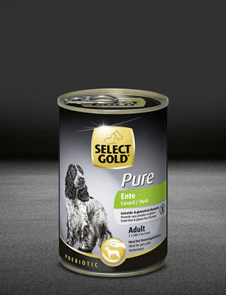 select gold pure ente dose nass 320x417px
