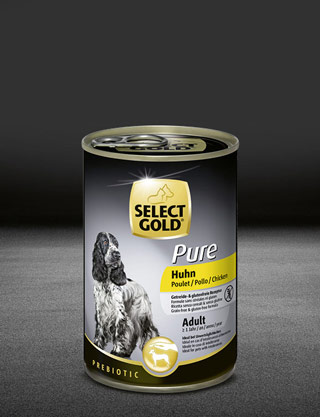 select gold pure huhn dose nass 320x417px