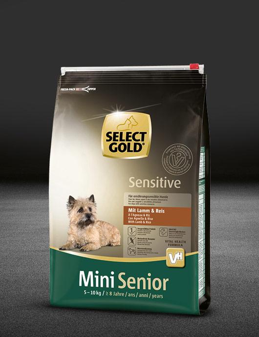 Select gold senior mini