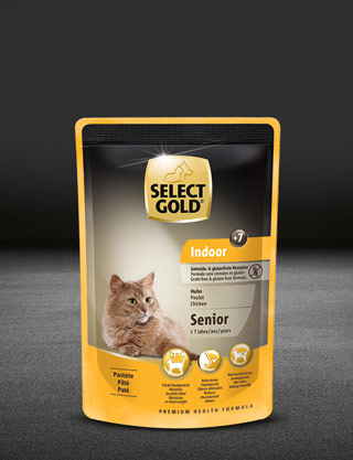 select gold indoor senior huhn pouch nass 320x417px
