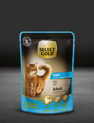 select gold light adult huhn pouch nass 320x417px