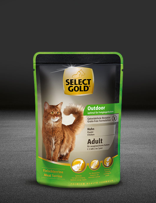 select gold outdoor adult huhn pouch nass 530x890px