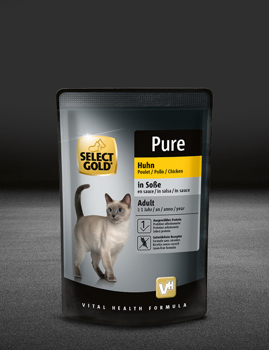 select gold pouch in so%C3%9Fe huhn pouch nass 530x890px