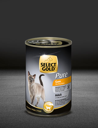 select gold pure adult gans dose nass 320x417px