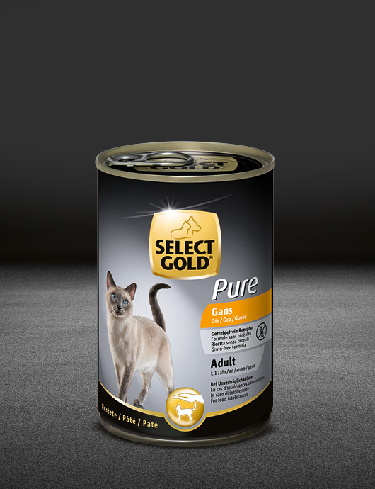 select gold pure adult gans dose nass 530x890px