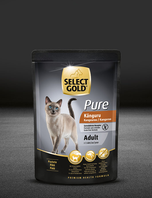 select gold pure adult k%C3%A4nguru pouch nass 530x890px