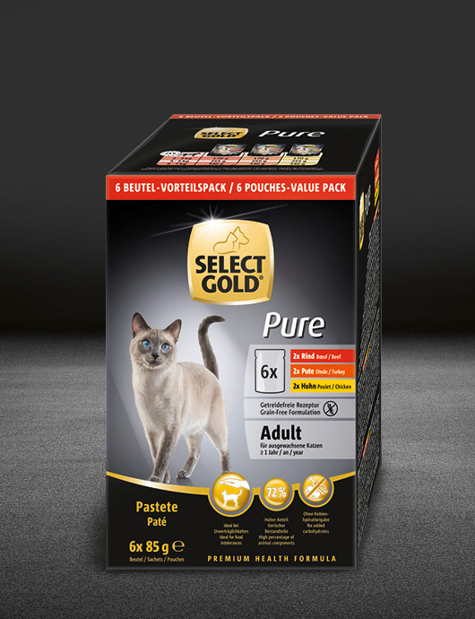 select gold pure adult multipack pouches pouch nass 530x890px