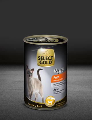 select gold pure adult pute dose nass 320x417px