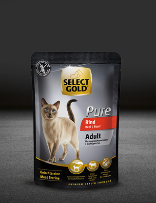 select gold pure adult rind pouch nass 320x417px