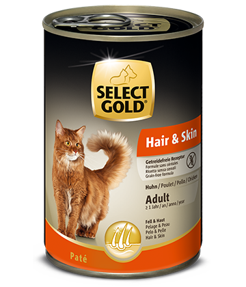 select gold sensitive hair und skin adult huhn dose nass 50x80px